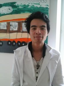 Foto Hoang vor der Reise